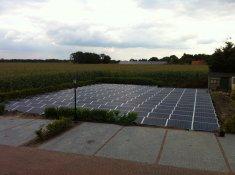 Voorbeeldfoto 182 zonnepanelen